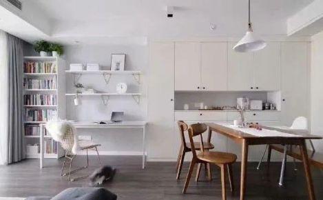 餐厅边加个柜子,既能储物又能做装饰,打造高颜值餐厅
