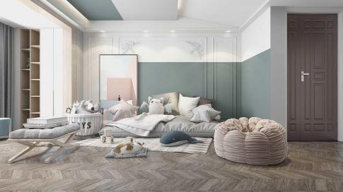 北欧风三居室装修,色调搭配漂亮舒适,温馨感十足!