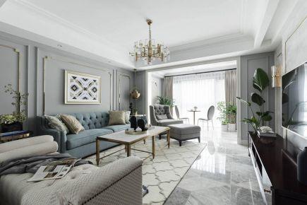 简洁惬意的简欧家装,给你浪漫舒适的居家享受