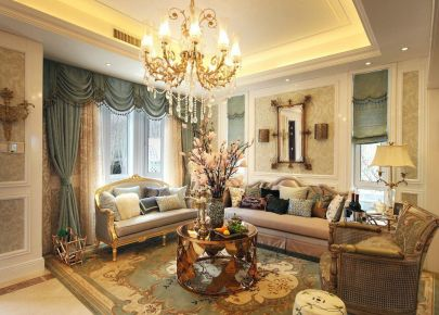 法式家装风格 彰显浪漫与复古