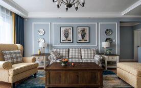 优雅浪漫美式风格三居室装修
