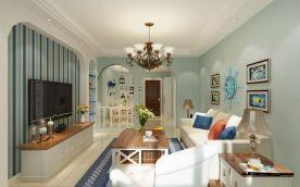 地中海风格三居室装修,每天都像是在度假