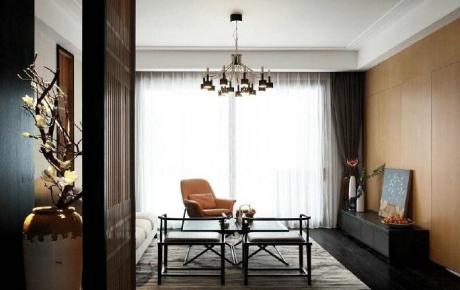 新中式风格装修四居室