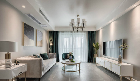 现代风格三居室装修,打造轻奢生活