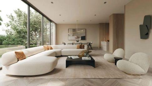 2021客厅设计新趋势,走在时尚最前端!