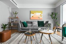 北欧风三居室,青春靓丽的装修,家就该有生活仪式感