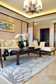 新中式风格,一见客厅就心动了,古典韵味与现代简洁的绝美融合