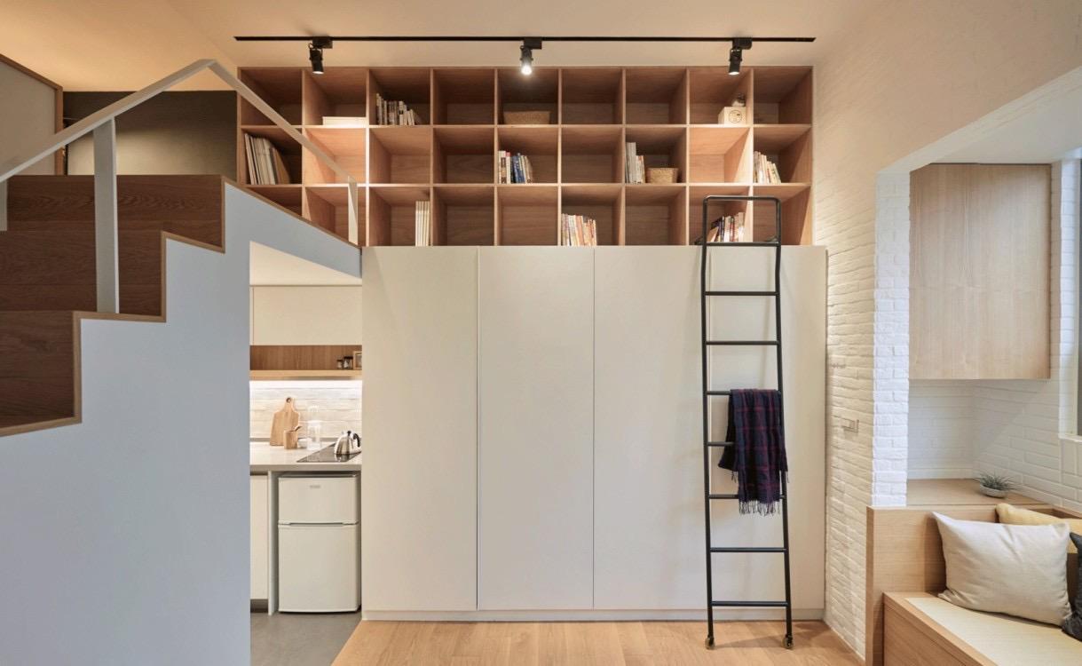 日式风单身公寓,紧凑又舒适的小蜗居,你值得拥有!