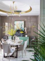 轻奢风别墅装修,精致格调与高雅的生活融为一体