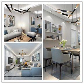 现代简约风格设计效果图张家界专业设计公司张家界中达装饰专业室内装修设计海量装修设计案例