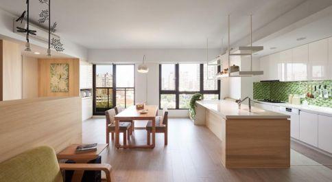 日式风格装修,满满的自然气息,暖暖的质朴生活