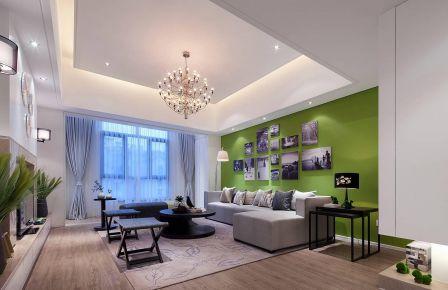 极简现代风格装修设计,造型简洁、配色干净
