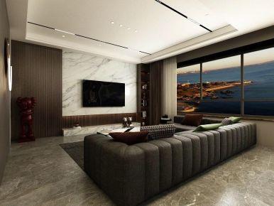 现代风格245m²大平层