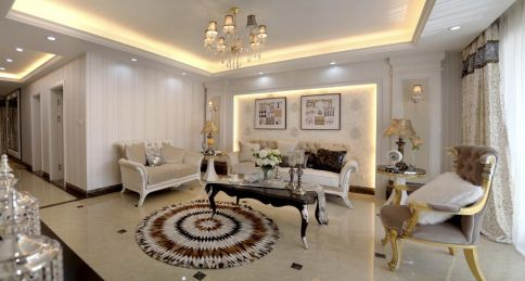 欧式风格装修设计图,精致典雅的高品质生活!