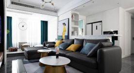 设计院小区74㎡小美式风格