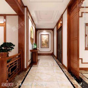 中式紫云轩传统装修仿古设计