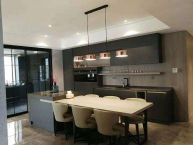 意式极简130,黑色简约风装修,让家更有质感!
