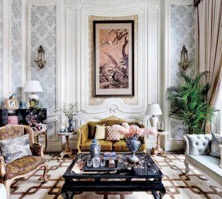 法式浪漫装修风格,散发着一种淡雅高贵的自身魅力!