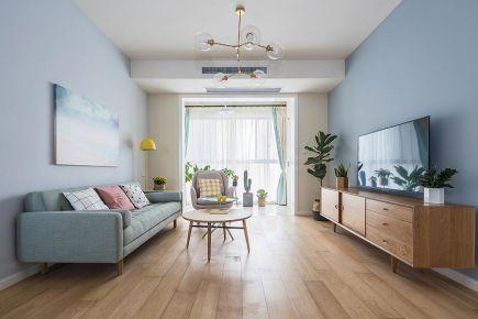 简约风格装修,白色+蓝色让家更温馨