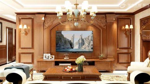 【公元2099•装修设计】219㎡经典美式风格·家存在的地方,才是灵魂安放的院落!