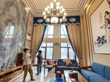 【紫美雅和•实景案例】215㎡联排别墅,方寸之间,皆是优雅,醉美的东方设计!