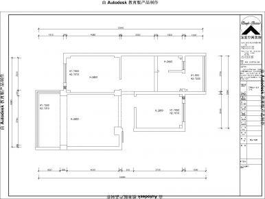 卫国苑|两室两厅的现代装修风格