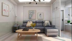 80m²现代轻时尚风格方案赏析