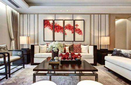 新中式三居室装修,胡桃木空间韵味十足,全屋古朴雅致