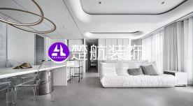 辽宁营口中天·书香庭院124平现代风格装修效果图分享