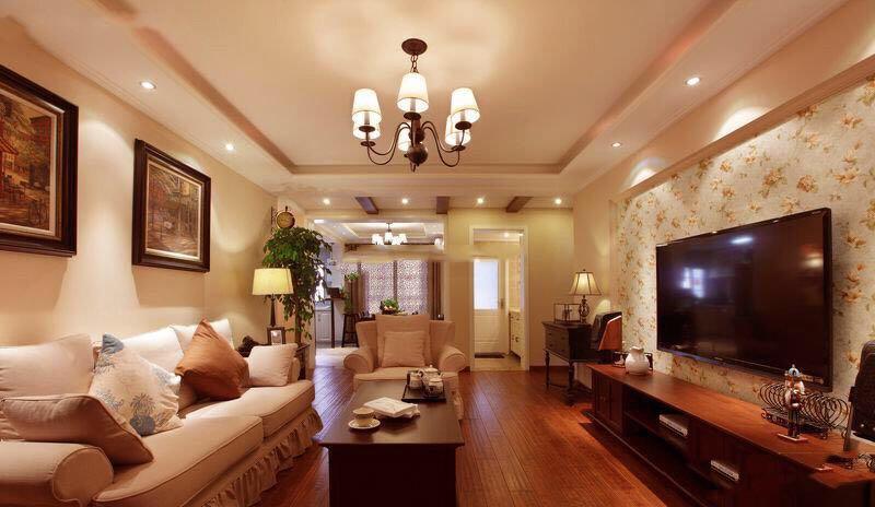 烟台简约现代风格三居室装修_众易居装修效果图大全