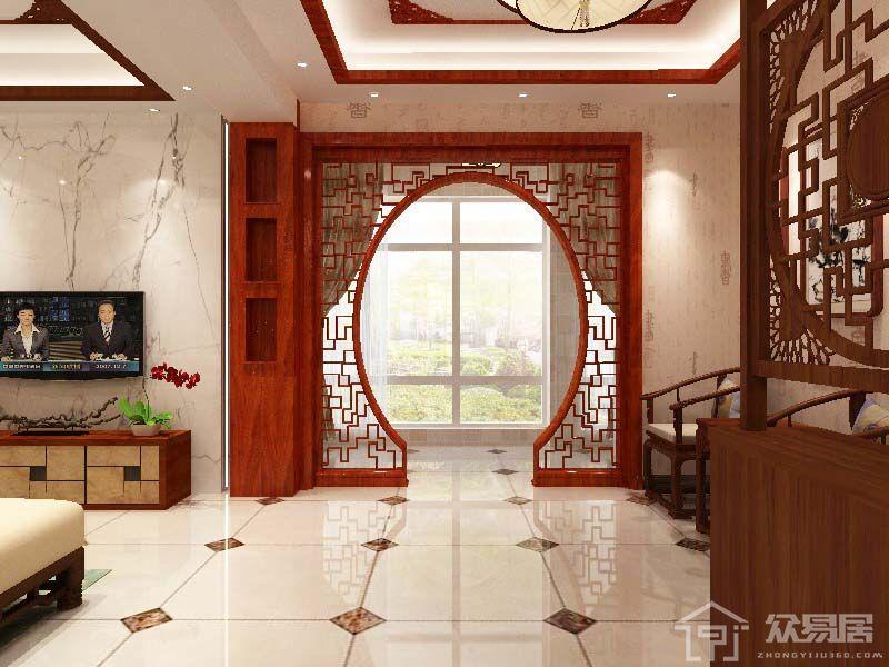 扬州桃源人家 中式风格复式楼装修设计欣赏_众易居图