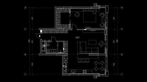 精致豪华的现代风单身小公寓装修案例