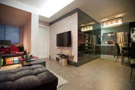 60平现代新房装修效果图