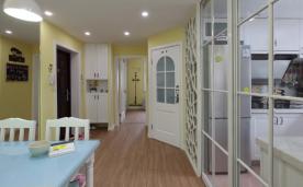 50平两室两厅田园装修案例
