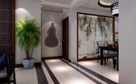 118平三居室新中式风格效果图
