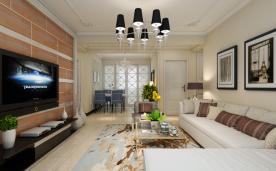 118平现代三居装修案例