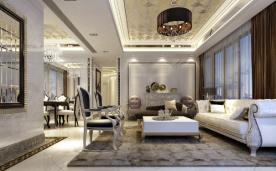 126平米欧式四居装修设计