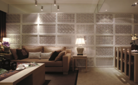 三居中式150平米装修效果图
