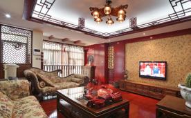 140平米传统中式别墅装修