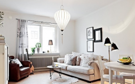 54平清新北欧公寓设计