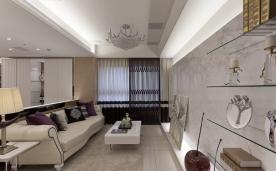 现代装修——180㎡四居室