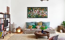85㎡一室一厅设计 现代装修效果图