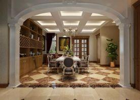 500㎡别墅 中式装修设计