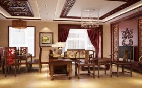 35万打造380㎡中式 别墅设计案例