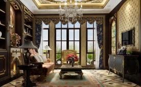 巴洛克风格装修 500㎡别墅装修案例