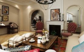 浪漫法式 326㎡别墅装修案例