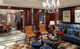 三室两厅美式装修 112㎡装修案例