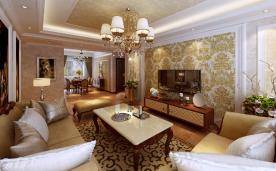 134㎡三居装修 美式装修案例