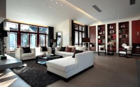 中式别墅装修 216平米别墅设计