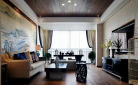 158平米中式装修 三居设计案例